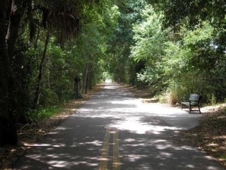 Wonderfully shady Cady Way Trail