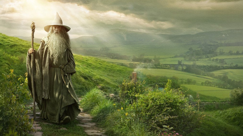 My fictional heaven. Gandalf included.