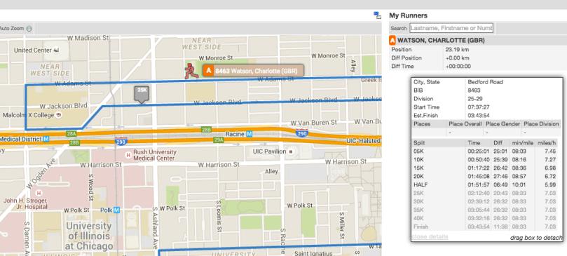 chicago marathon tracking CasiRuns